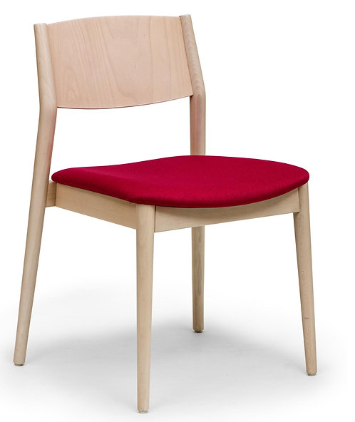 Brenda S Chair - Uphols. Seat - Stacker