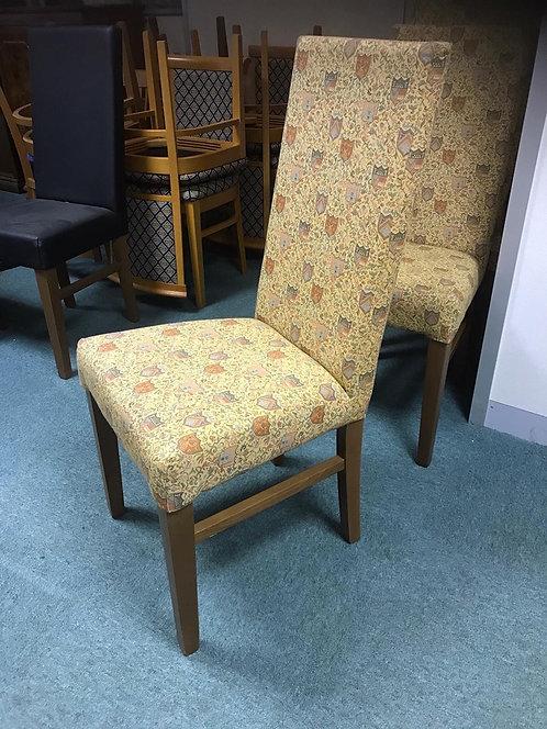 Sasha C Chairs - Finished  x 6 Shieldback fabric