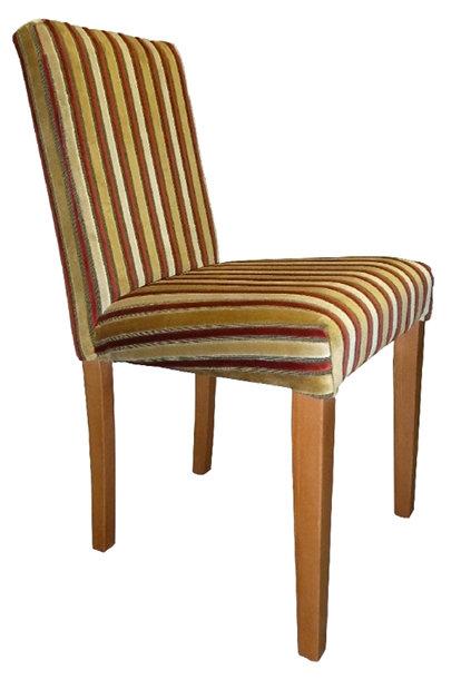 Sasha 3/4 Chair - Contract with Rails