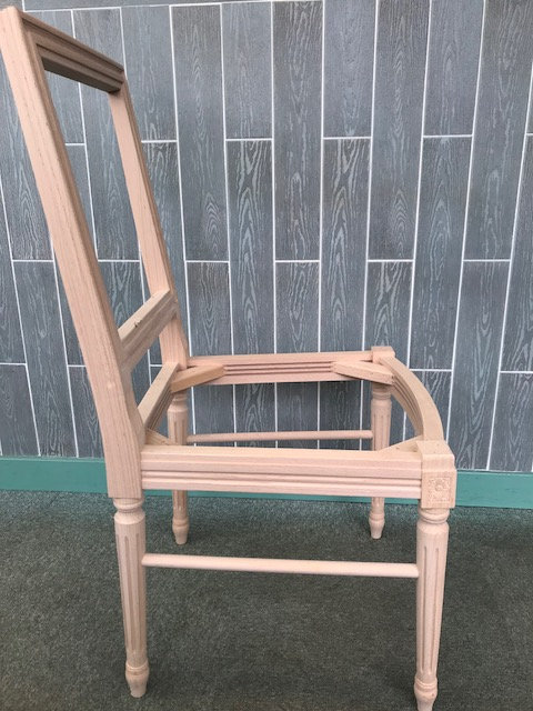 Louis Squareback S Chairs & Contract - Raw