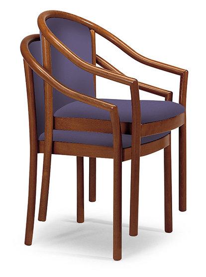 Manuela Imp stacking armchair