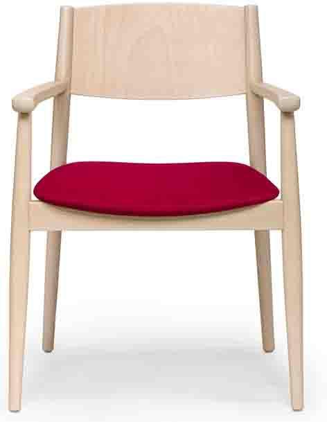 Brenda P  Armchair -  Seat Uphols. - Non Stacker