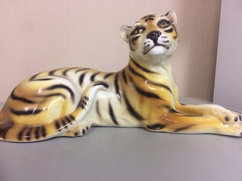 Ceramic Tiger state figurine