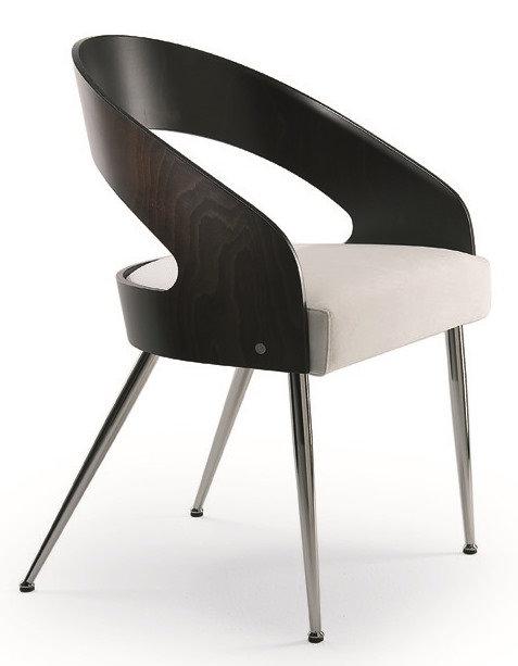 Emily 3/4 Armchair on Chrome legs