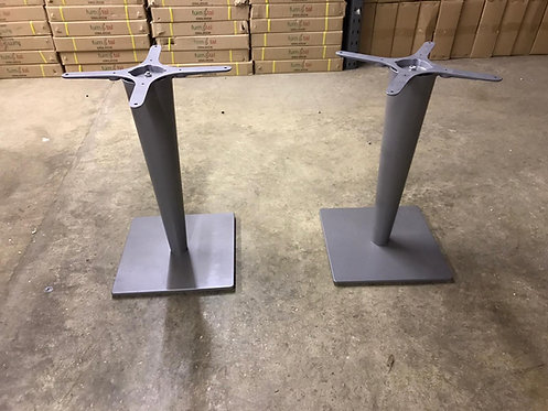 Grey Metal Table base