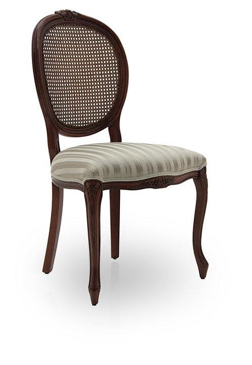 Brianzola Oval Cane Back Chair