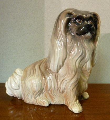 Dog statue figurine - Shih tzu