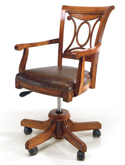 Orleon Office Chair - On Wheels