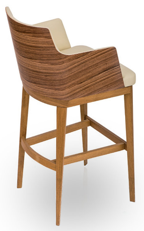 Kitty Sg TF Bar Stool & Woodback