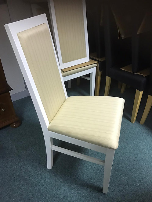 Antonella chairs - Finished x 6 (White frames)