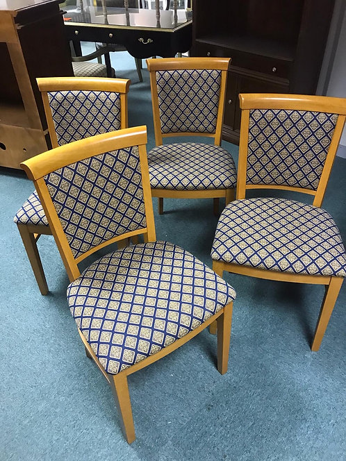 Rebecca 3/4 back chairs - Finished x 4