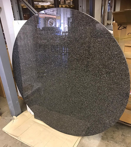 Black Granite Dining Table Top  130cm Round/ (51 inches) Nero Africa