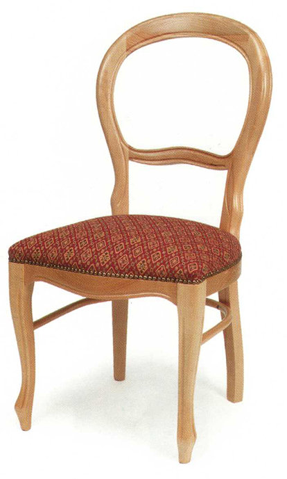 Open Spoonback Chair
