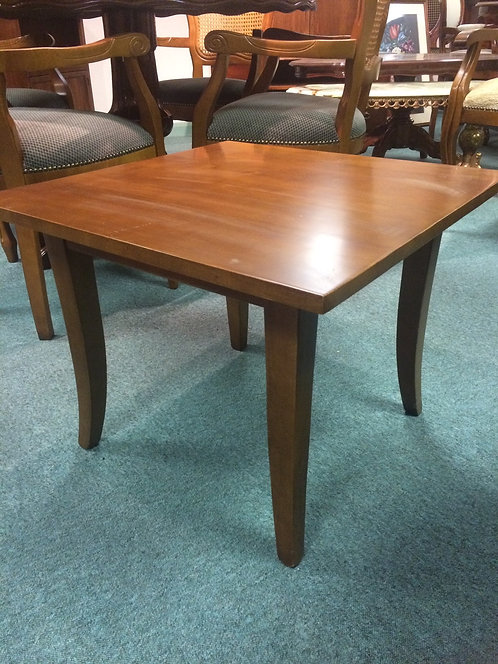 Plain square coffee table