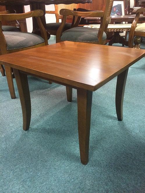 Plain square coffee table