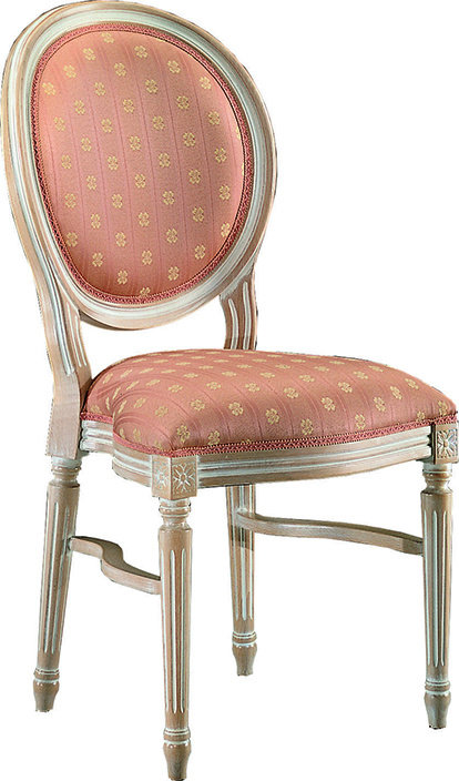 Louis Oval Back S Imp stacking chair