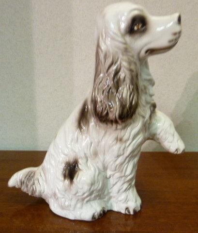 Dog statue figurine - Cocker Spaneil