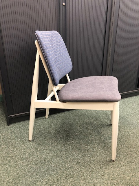 Retro pair of lounge chairs