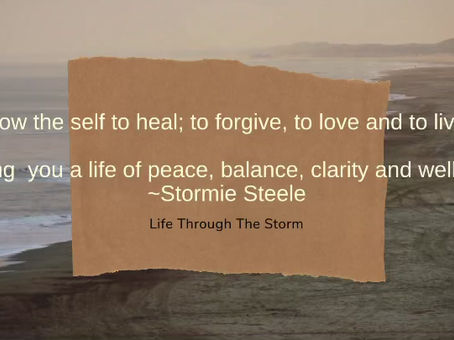 Allow The Self...