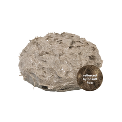FibreMatrix: 100% inorganic, reinforced by basalt fibers, non-combustible