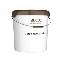Cerammatrix-Carbo: 100% inorganic, non-combustible, based on basalt rock formations