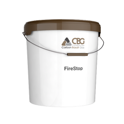 FireStop: 100% inorganic, with endothermic effect