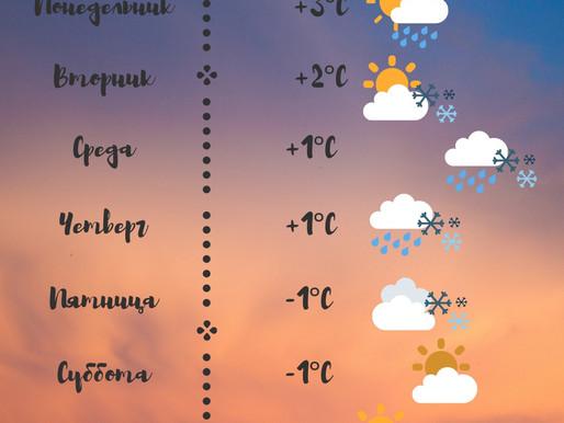 Прогноз погоды на следующую неделю в Печенгском районе💐