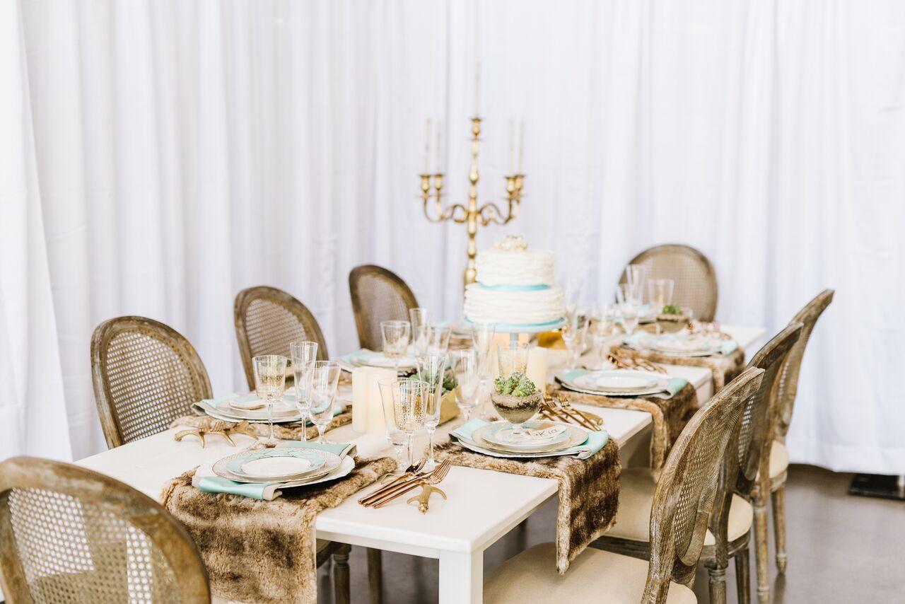 Elegant Winter Solstice Dinner Party