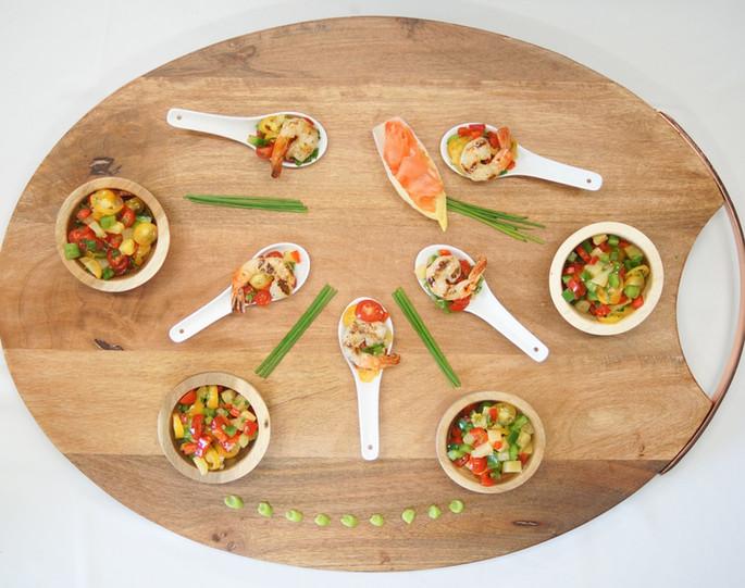 Asian Appetizer Board
