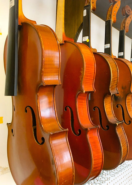 Violins needing repair