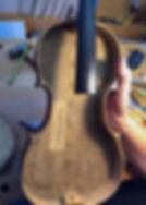 antique violin repair
