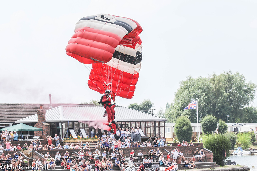 A Red Devil lands at Rescue Day