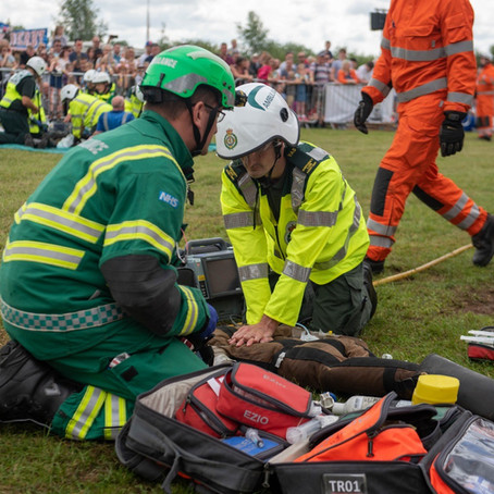 Thousands watch emergency teams in action at Rescue Day 2019