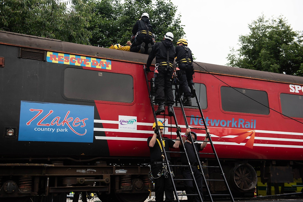 British Transport Police at Rescue Day 2019