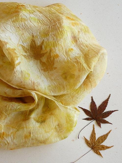 Lenço Folhas do Japão