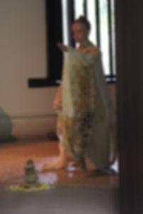 Performance Cada Passo criada por Fernanda Mascarenhas com direção de Toshi Tanaka apresentada na Casa do Sertanista São Paulo