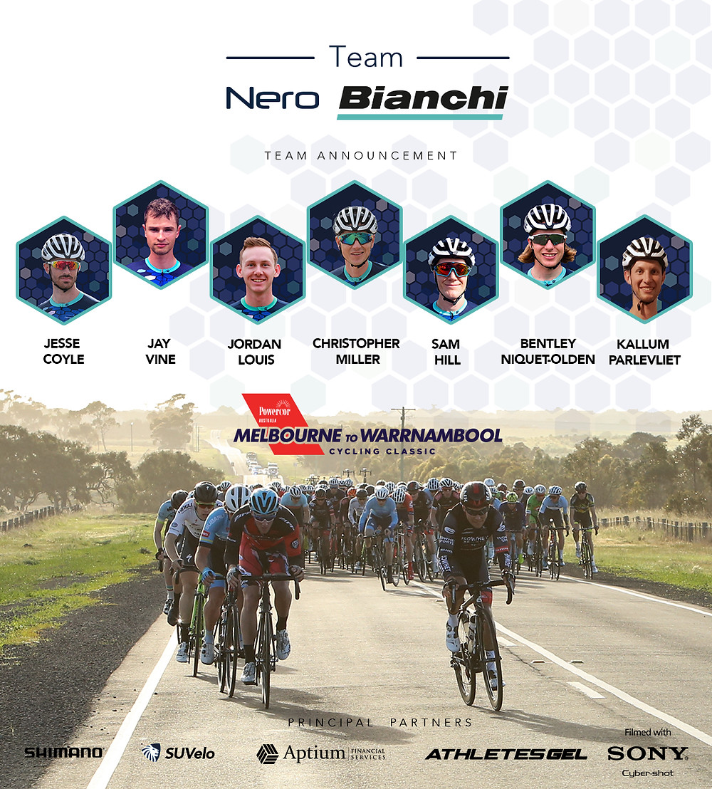 Team Nero Bianchi Team Melbourne to Warrnambool