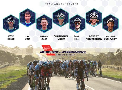 Team Announcement - NRS Race 1