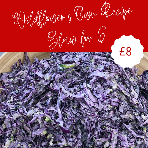 Wildflower's Own Recipe Slaw