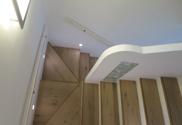 Schwarzlackenau Treppenhaus