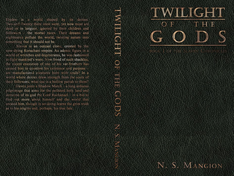 NaNoWriMo and Twilight of the Gods