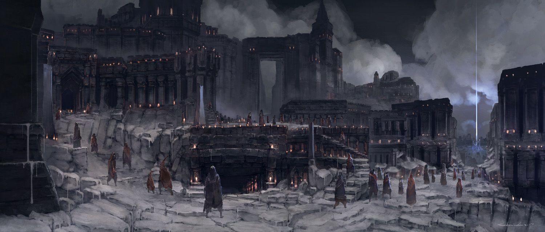 Plagi city in the Umbra Solare