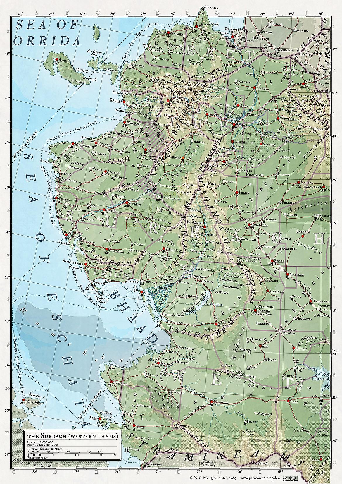 34 - the Surrach - West