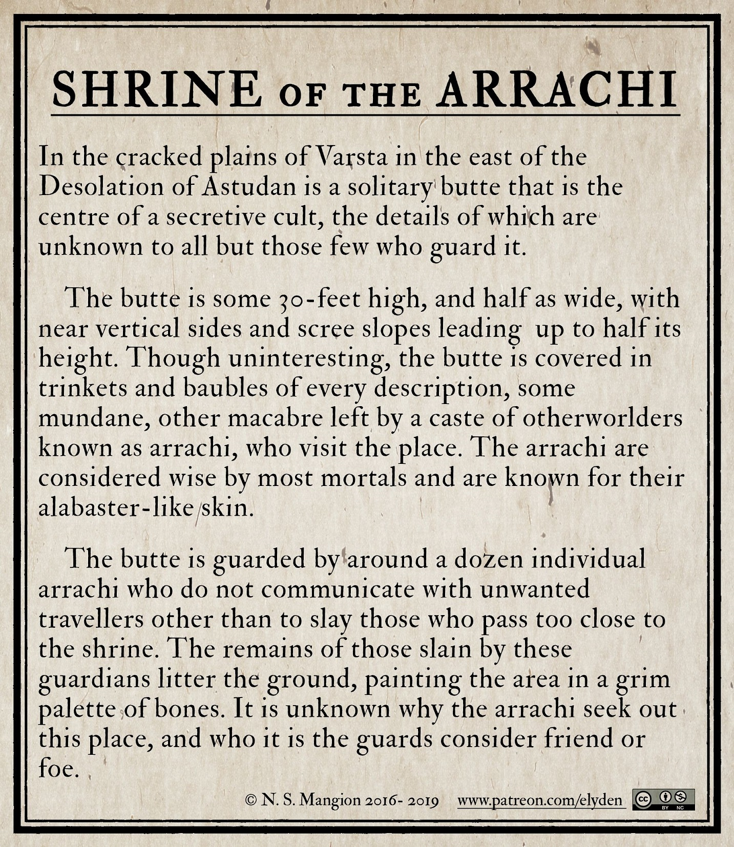 Shrine of the Arrachi