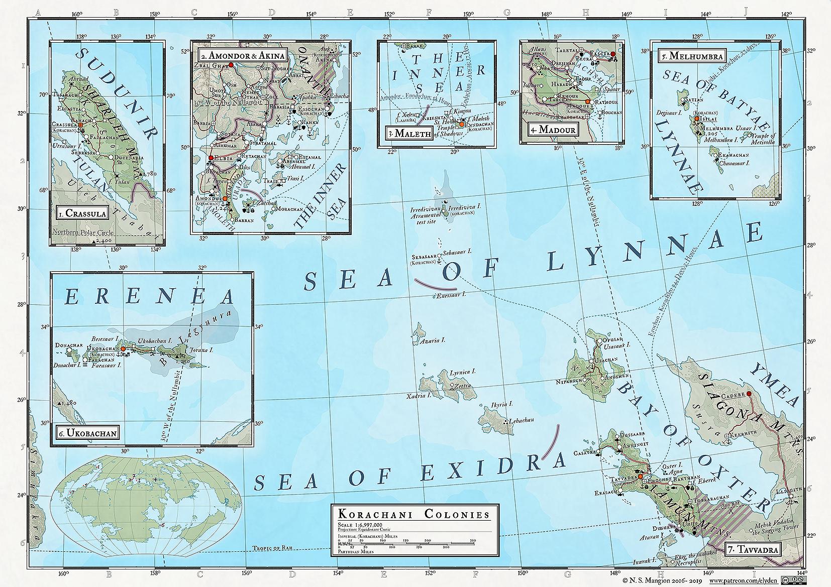 50 - Korachani colonies