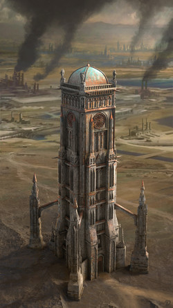 Funerary tower