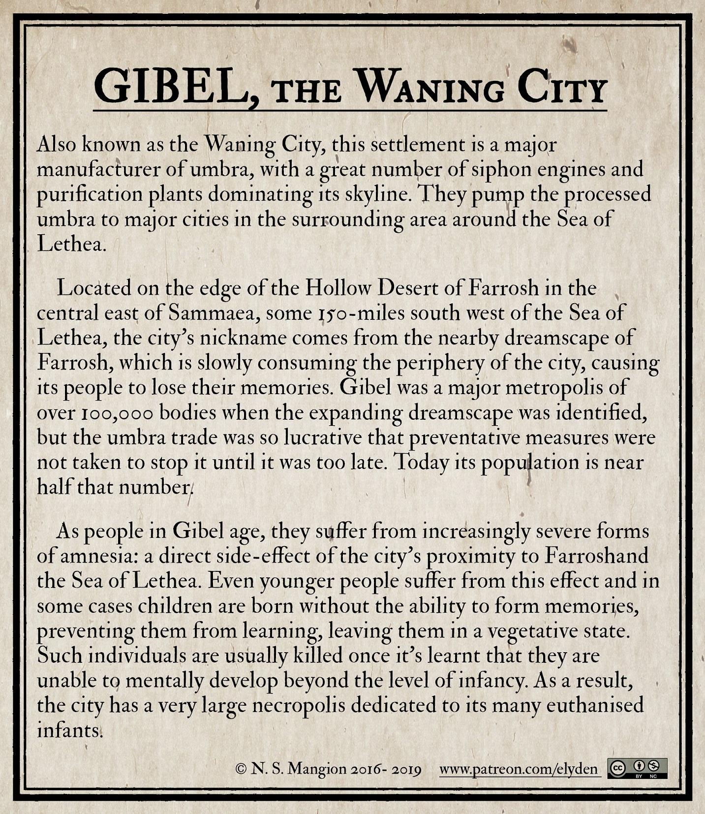 Gibel, the Waning City