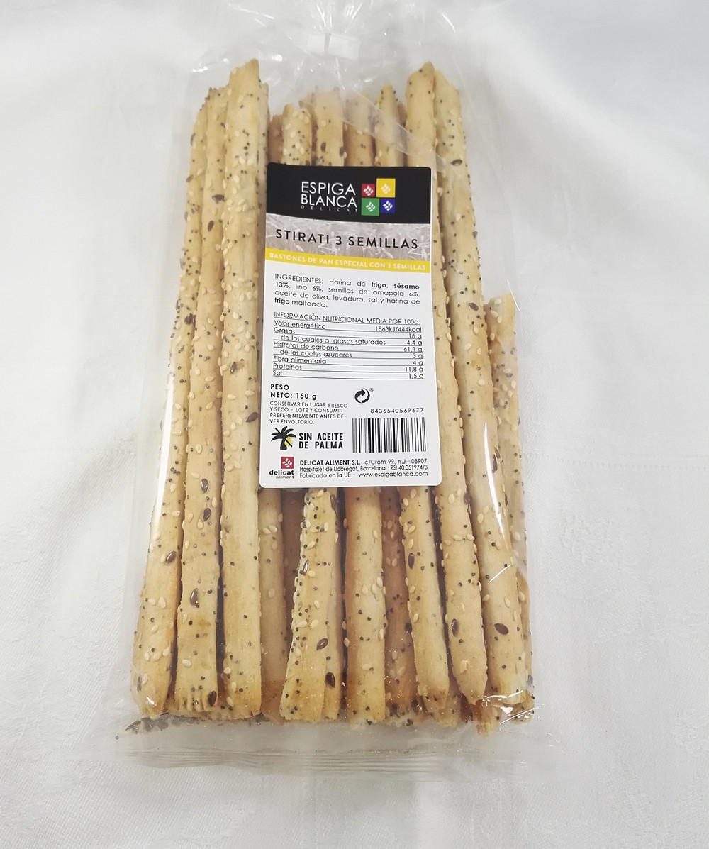 Bastonets de pa - palitos de pan saludables 11
