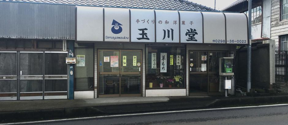 谷田部の老舗和菓子店「玉川堂」に行ってみた