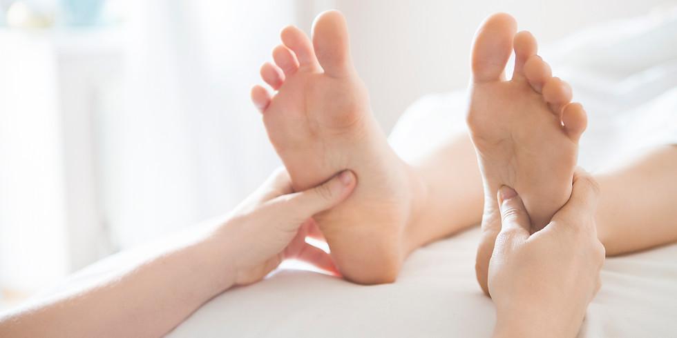 Atelier corporel : les pieds